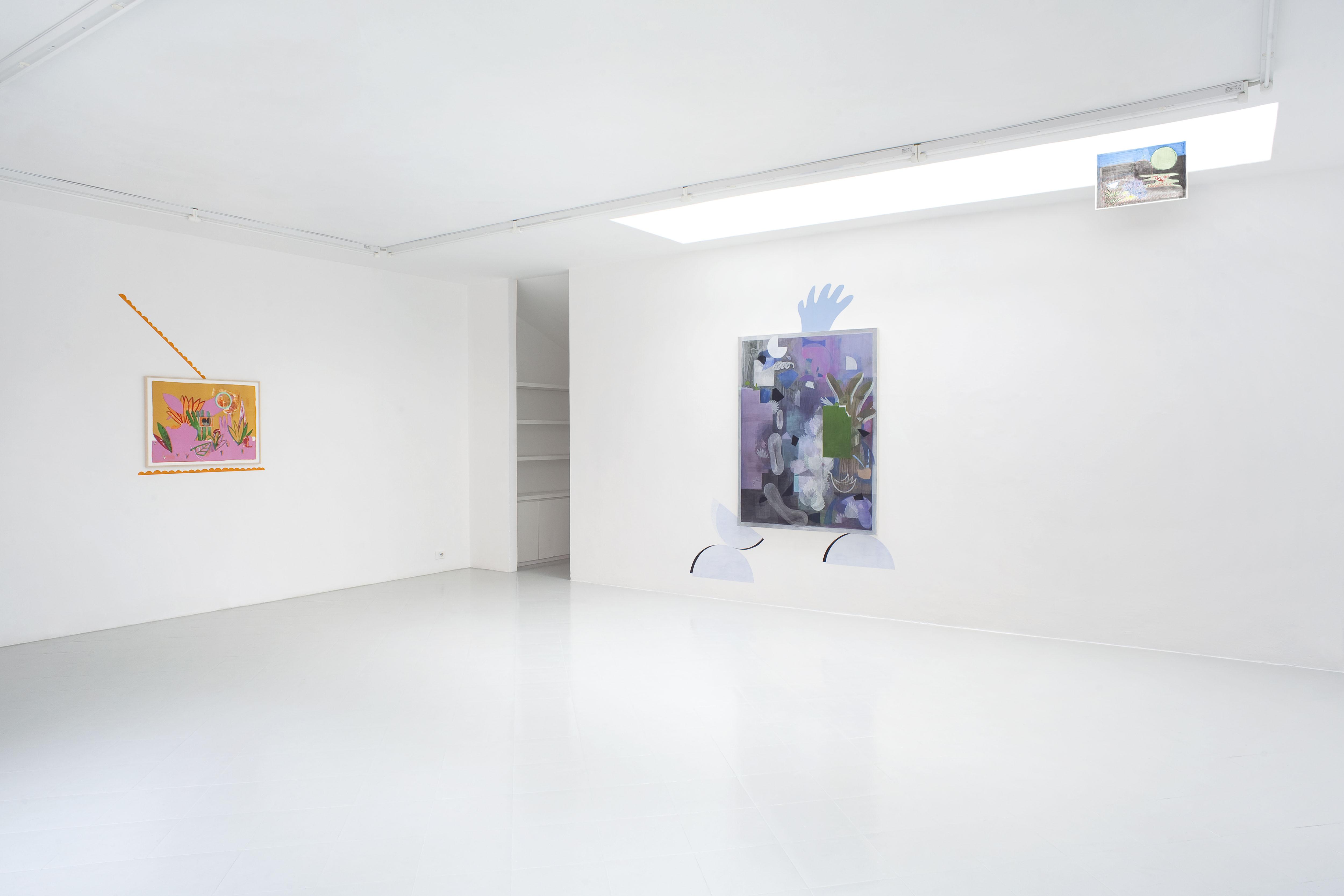10 - Charlotte Herzig Stanchezza Passeggera Installation View 2016 Courtesy Studiolo Milan - photo Filippo Armellin copia