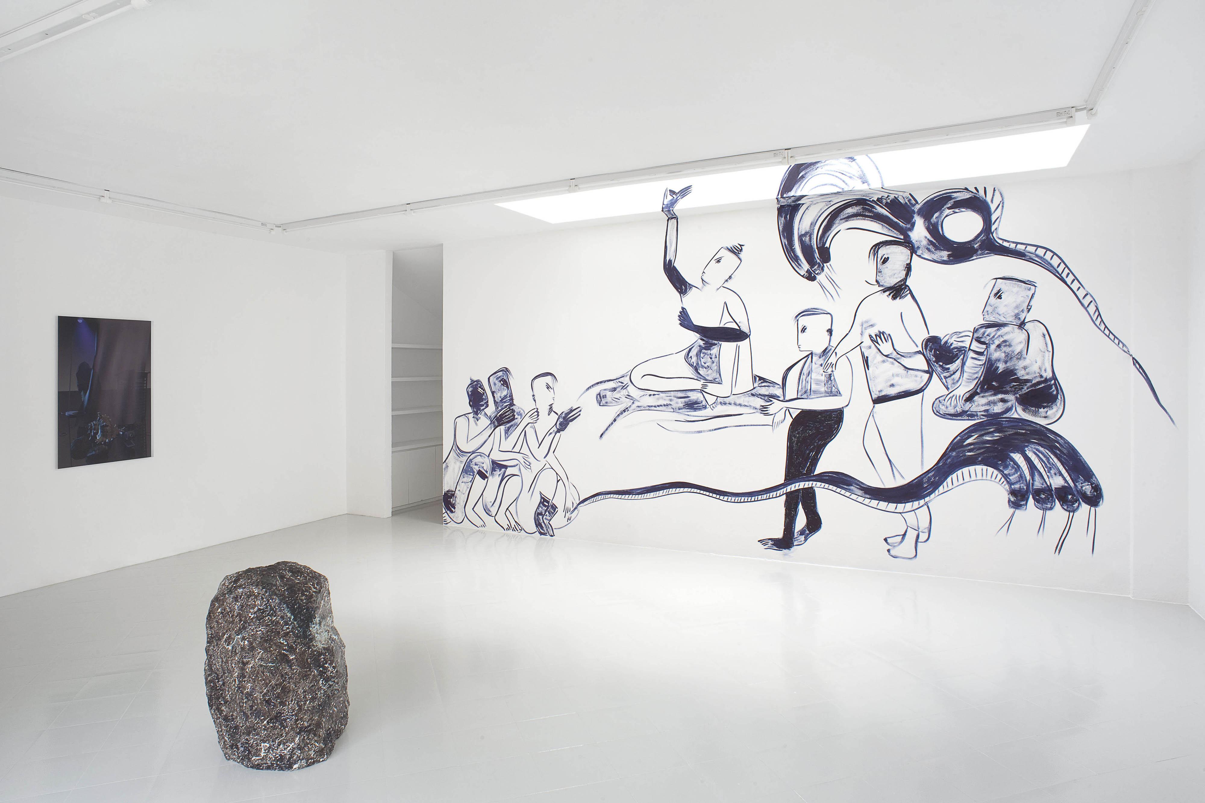 11 - Melike Kara Lindsay Lawson Installation View 2016 - Courtesy Studiolo Milan