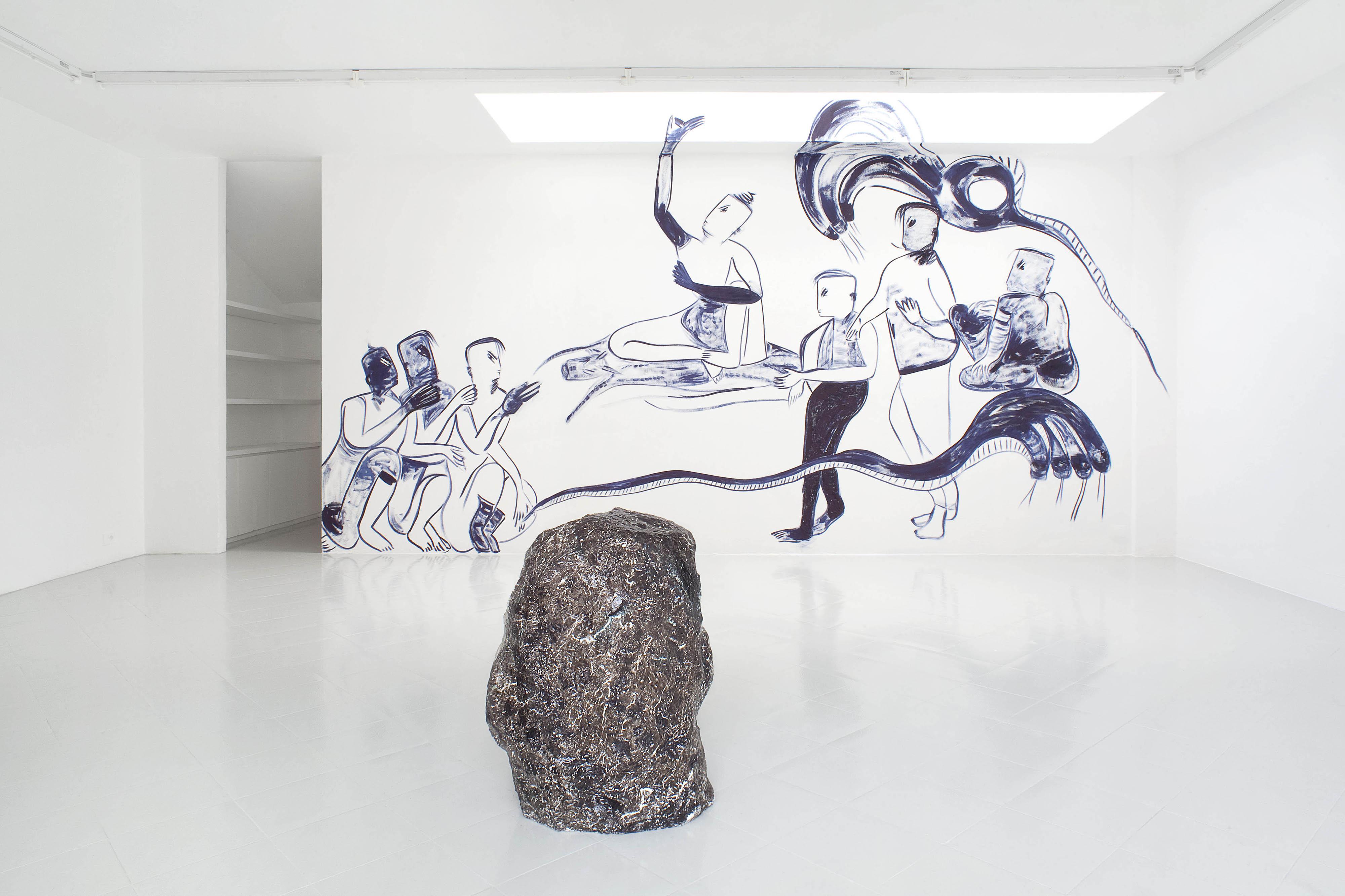 12 - Melike Kara Lindsay Lawson Installation View 2016 - Courtesy Studiolo Milan