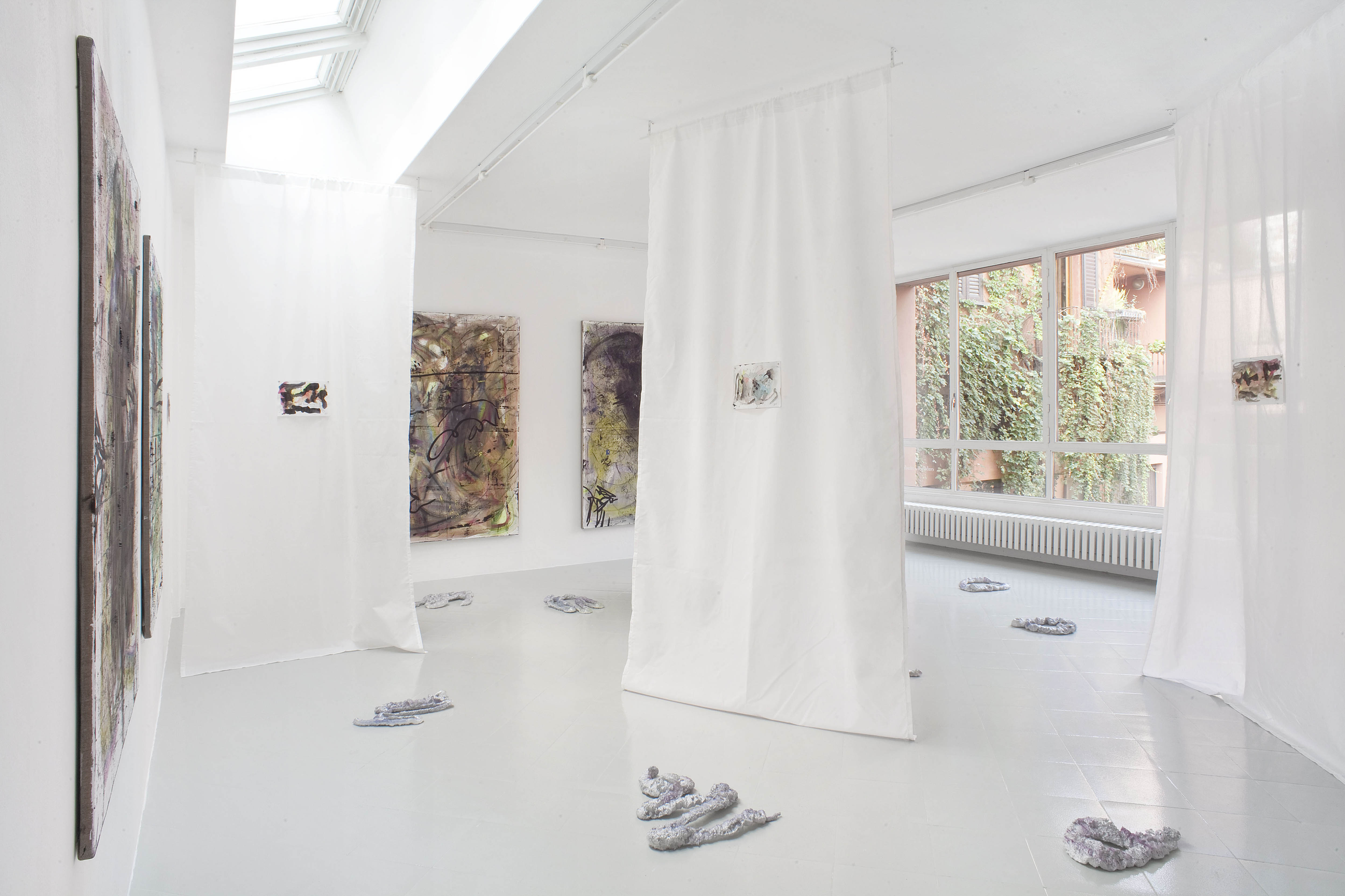 15 - Henning Strassburger Superet Exit System Installation View 2016 Studiolo Milan copia 2