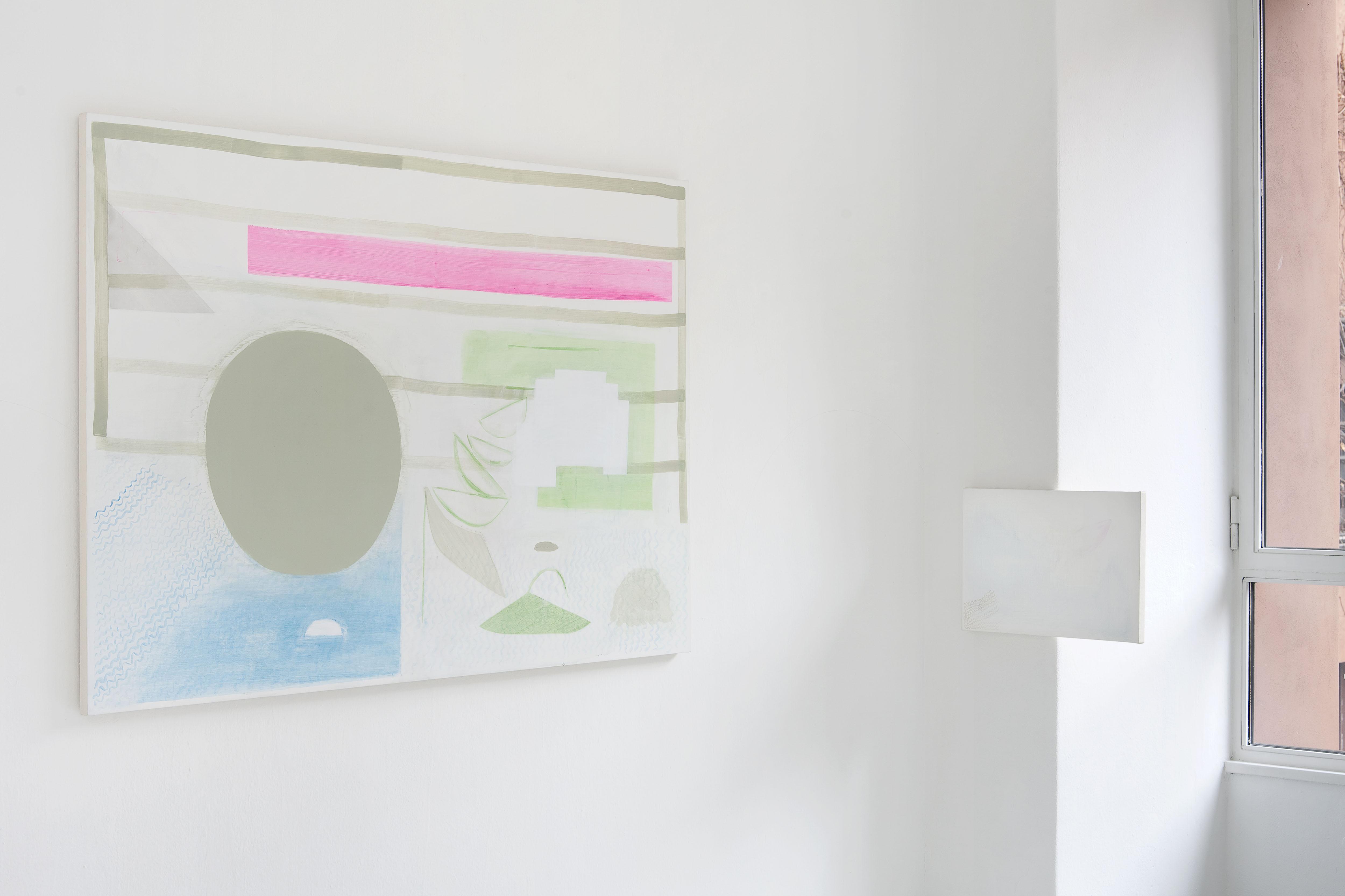 16 - Charlotte Herzig Stanchezza Passeggera Installation View 2016 Courtesy Studiolo Milan - photo Filippo Armellin copia