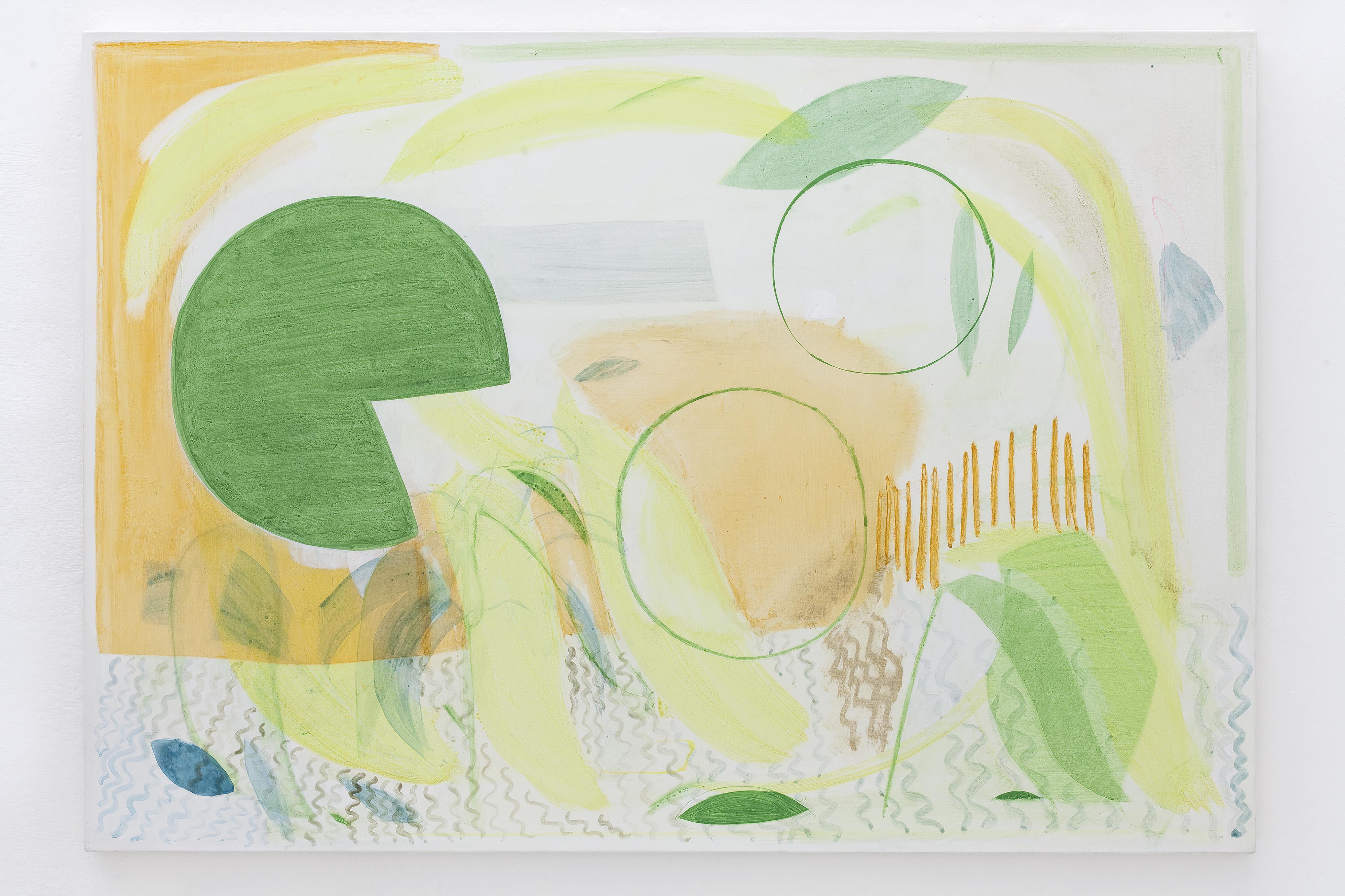 19 - Charlotte Herzig Oo 2016 acrylic on canvas 70x90 cm Courtesy Studiolo Milan - photo Filippo Armellin copia