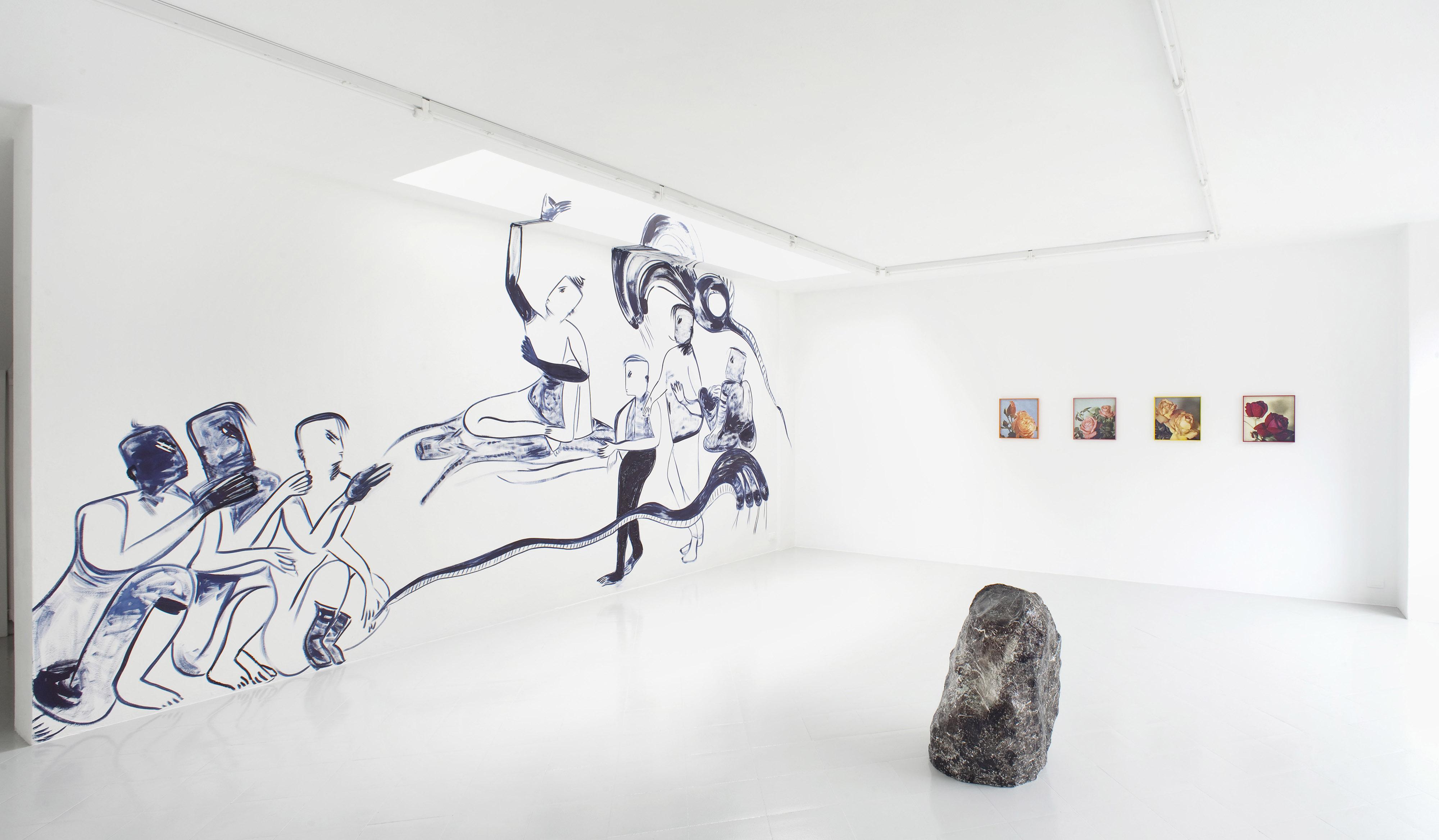 1 - Melike Kara Talisa Lallai Lindsay Lawson Installation View 2016 - Courtesy Studiolo Milan