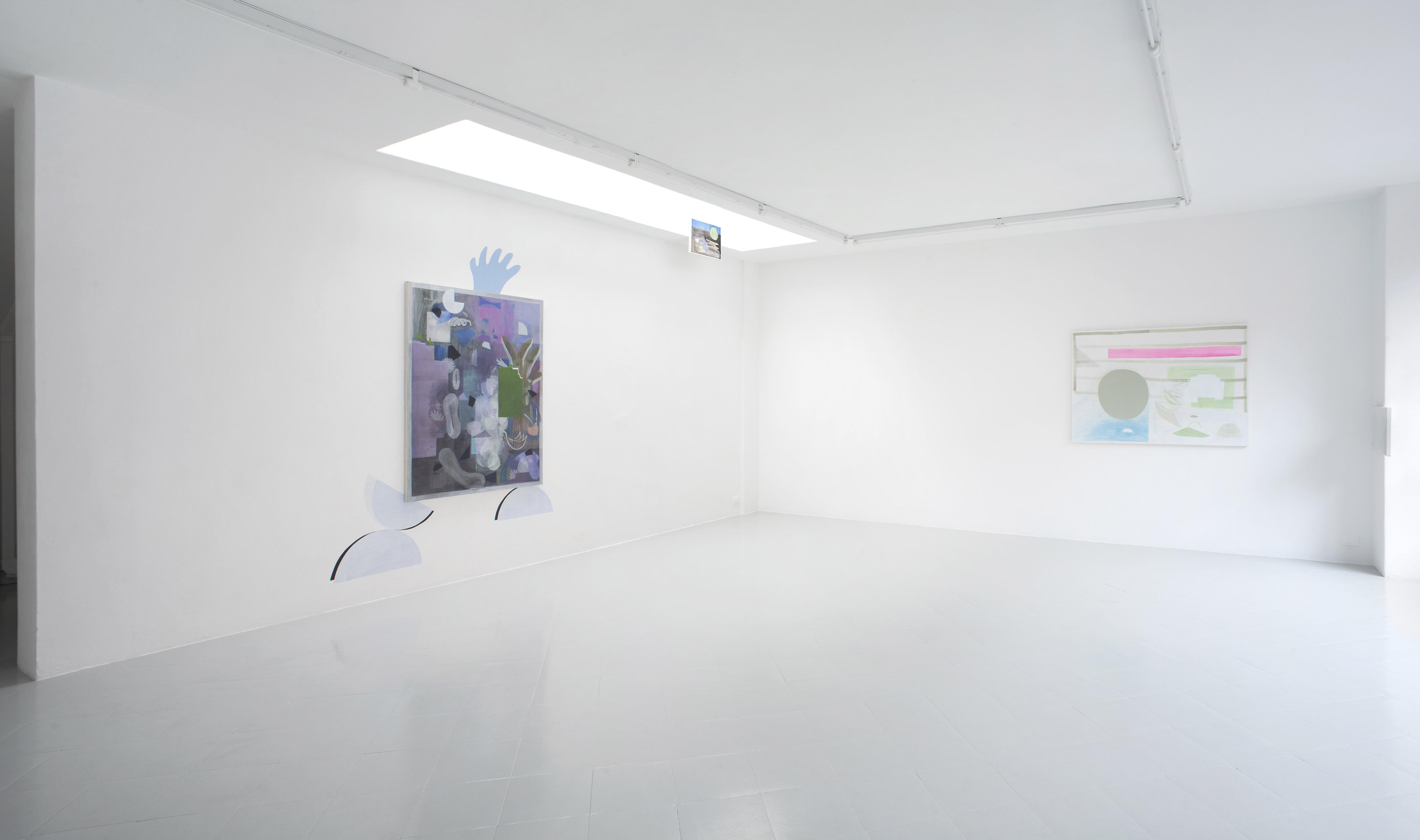 1a - Charlotte Herzig Stanchezza Passeggera Installation View 2016 Courtesy Studiolo Milan - photo Filippo Armellin