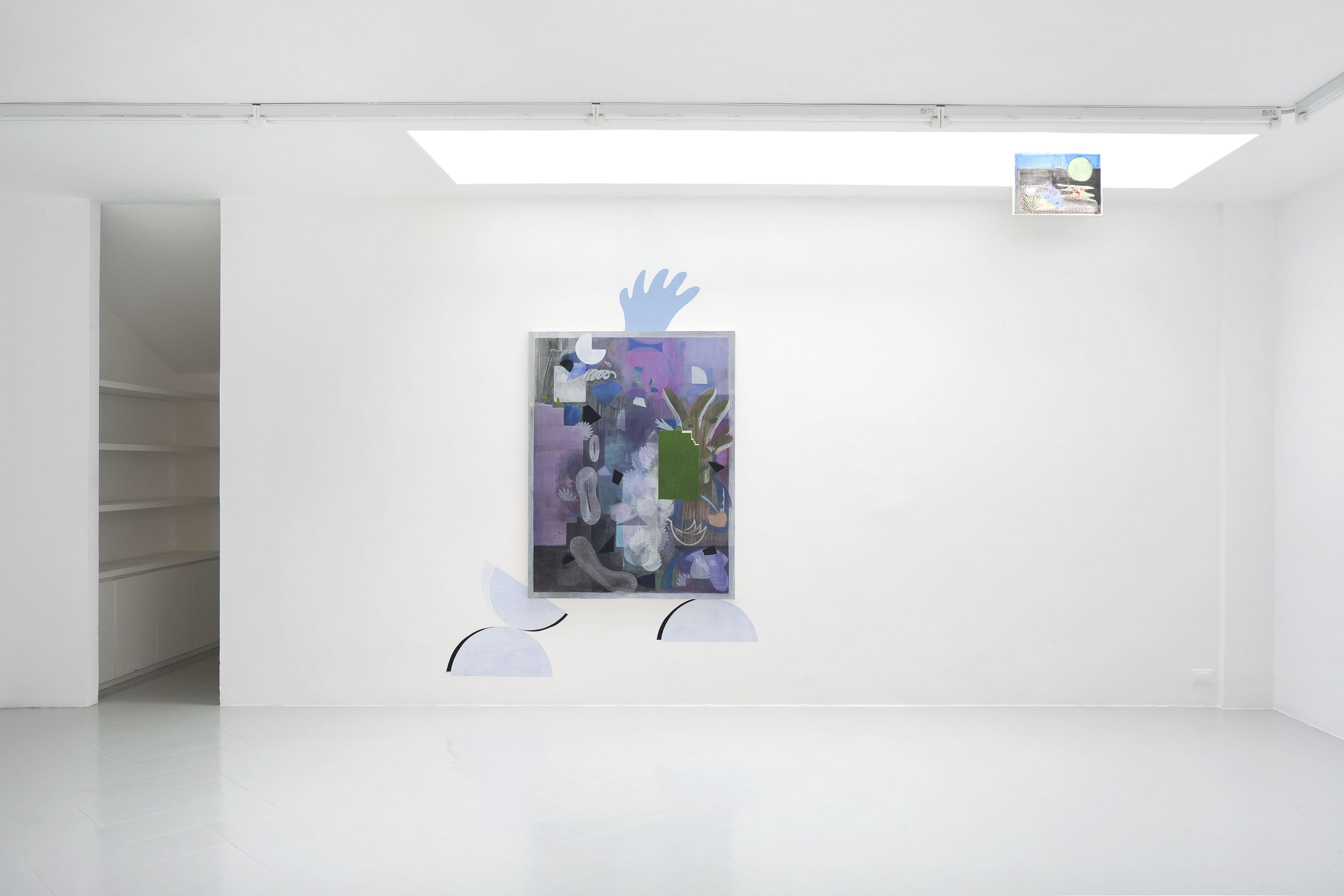 3 - Charlotte Herzig Stanchezza Passeggera Installation View 2016 Courtesy Studiolo Milan - photo Filippo Armellin copia