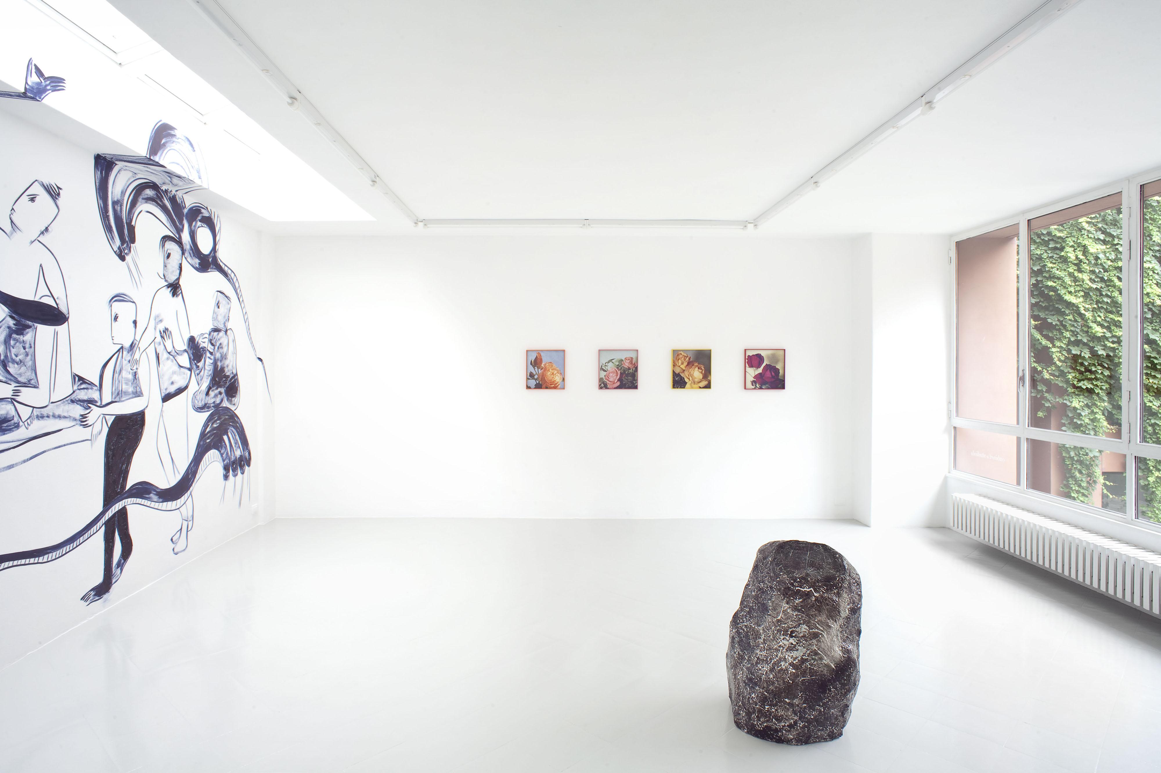 4 - Melike Kara Talisa Lallai Lindsay Lawson Installation View 2016 - Courtesy Studiolo Milan